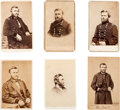 Photography:CDVs, Ulysses S. Grant: Group of Six Cartes de Visite.... (Total: 6 )