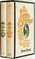 Books:Biography & Memoir, Michael Holroyd. Lytton Strachey: A Critical Biography. New York: Holt, Rinehart and Winston, [1968]. First American... (Total: 2 Items)