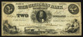 Obsoletes By State:Indiana, Gosport, IN- Citizens Bank $2 July 1, 1857. ...