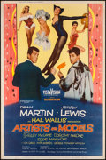 """Movie Posters:Comedy, Artists and Models (Paramount, 1955). Poster (40"""" X 60"""") Style Y.Comedy.. ..."""