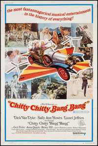 "Chitty Chitty Bang Bang (United Artists, 1969). Poster (40"" X 60"") Style B. Fantasy"