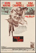 "Movie Posters:Western, True Grit (Paramount, 1969). Poster (40"" X 60""). Western.. ..."