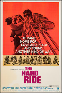 "The Hard Ride & Other Lot (American International, 1971). Posters (2) (40"" X 60""). Exploitation. ... (..."