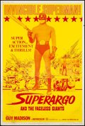 "Movie Posters:Adventure, Superargo & Other Lot (Fanfare, 1971). Posters (2) (40"" X 60"").Adventure. US Title: Superargo and the Faceless Giants....(Total: 2 Items)"