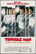 "Movie Posters:Blaxploitation, Trouble Man (20th Century Fox, 1972). Poster (40"" X 60""). Blaxploitation.. ..."