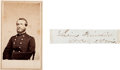 Photography:CDVs, Union General Lucius Fairchild Carte de Visite with Clipped Signature.... (Total: 2 )