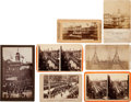 Photography:Cabinet Photos, Ulysses S. Grant: Seven Images Related to Grant's Death, Circa1885.... (Total: 7 )