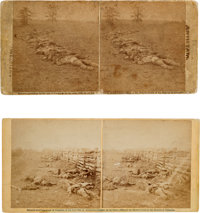 Civil War Stereoviews: Two Scenes From the Battle of Antietam From Negatives by Alexander Gardner