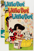 Silver Age (1956-1969):Humor, Little Dot Group (Harvey, 1954-57) Condition: Average FN-.... (Total: 10 Comic Books)