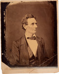 Photography:Studio Portraits, Abraham Lincoln Large Albumen Portrait, Originally Taken by Alexander Hesler, Printed From the Original Negative by George B. ...