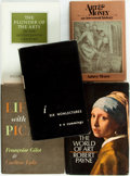 Books:Art & Architecture, [Art]. Group of Five Books about Art. Various publishers and dates. Original bindings and dust jackets if applicable. Very g... (Total: 5 Items)