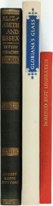 Books:World History, [England]. Group of Three Books. Includes: Lytton Strachey. SIGNED.Elizabeth and Essex. New York: Crosby Gaige,... (Total: 3Items)