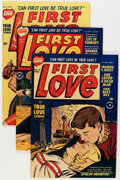 Golden Age (1938-1955):Romance, First Love Illustrated File Copy Group (Harvey, 1950-63) Condition:Average FN/VF.... (Total: 73 Comic Books)