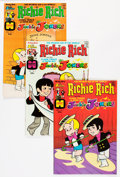 Bronze Age (1970-1979):Cartoon Character, Richie Rich and Jackie Jokers #1-48 Group (Harvey, 1973-82)Condition: Average NM-.... (Total: 48 Comic Books)