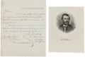 Autographs:Military Figures, Ulysses S. Grant Autograph Endorsement Signed... (Total: 2 )