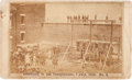 Photography:CDVs, [Lincoln Assassination]. Photograph: Execution of the Conspirators....