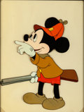 Animation Art:Production Cel, The Pointer Mickey Mouse Production Cel (Walt Disney,1939)....