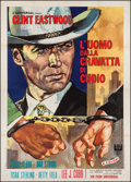 "Movie Posters:Crime, Coogan's Bluff (Universal, 1968). Italian 4 - Foglio (55"" X 78"").Crime.. ..."