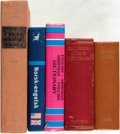 Books:Reference & Bibliography, [Dictionaries]. Group of Five Miscellaneous Dictionaries. Variouspublishers and dates. Some shelfwear. Generally very good....(Total: 5 Items)