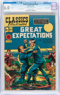 Golden Age (1938-1955):Adventure, Classic Comics #43 Great Expectations - Canadian Edition - HRN 62 (Gilberton, 1949) CGC FN 6.0 Off-white to white pages....