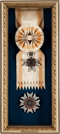Military & Patriotic:WWII, Japanese Order of the Sacred Treasure 1st and 2nd Class ...