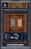 """Baseball Cards:Singles (1970-Now), 2004 Playoff """"Prime Cuts II"""" Lou Gehrig Jersey and Bat Swatch Card #MLB-65 #14/25 BVG 9.5. ..."""