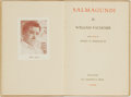 Books:Literature 1900-up, William Faulkner. Salmagundi. Milwaukee: The Casanova Press,1932. First edition, first printing. With a four-line p...