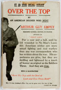 Books:Biography & Memoir, Arthur Guy Empey. Over the Top. New York: Putnam's, 1918.Fiftieth impression. Publisher's red cloth, with paper res...