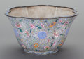 Asian:Chinese, A CHINESE PEKING ENAMELED BOWL, early 20th century. 7 inches high x11 inches diameter (17.8 x 27.9 cm) . ...