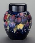 Ceramics & Porcelain, British:Modern  (1900 1949)  , AN ENGLISH POTTERY GINGER JAR, Moorcroft, Burslem (Stoke-on-Trent),Staffordshire, England, 20th century. Marks: MOORCROFT...
