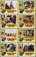 "Movie Posters:Adventure, The Iron Glove (Columbia, 1954). Lobby Card Set of 8 (11"" X 14"").Adventure.. ... (Total: 8 Items)"