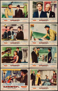 "Movie Posters:Adventure, Lisbon & Other Lot (Republic, 1956). Lobby Card Sets of 8 (2)(11"" X 14""). Adventure.. ... (Total: 16 Items)"
