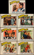 """Movie Posters:Sports, Touchdown, Army (Paramount, 1938). Lobby Cards (7) (11"""" X 14""""). Sports.. ... (Total: 7 Items)"""