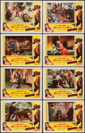 """Movie Posters:Western, The Law vs. Billy the Kid & Other Lot (Columbia, 1954). LobbyCard Sets of 8 (2) (11"""" X 14""""). Western.. ... (Total: 16 Items)"""