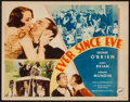"Movie Posters:Romance, Ever Since Eve (Fox, 1934). Title Lobby Card (11"" X 14""). Romance.. ..."