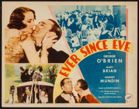 "Ever Since Eve (Fox, 1934). Title Lobby Card (11"" X 14""). Romance"