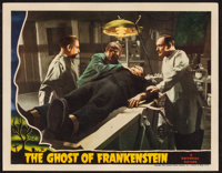 "The Ghost of Frankenstein (Universal, 1942). Lobby Card (11"" X 14""). Horror"