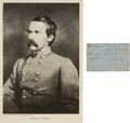 Autographs:Military Figures, General Robert E. Rodes: War-date Endorsement Signed.... (Total: 2 )