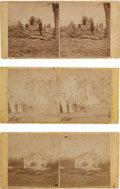 Photography:Stereo Cards, Civil War Stereoviews: Three Views of the War by Alexander Gardner.... (Total: 3 )