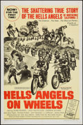 "Movie Posters:Exploitation, Hells Angels on Wheels (U.S. Films Inc., 1967). One Sheet (27"" X41""). Exploitation.. ..."