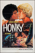 "Movie Posters:Blaxploitation, Honky (Jack Harris Enterprises, 1971). One Sheet (27"" X 41"").Blaxploitation.. ..."