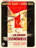 "Movie Posters:Film Noir, The Big Sleep (Warner Brothers, 1946). French Grande (47"" X 62.5"")Portrait Style.. ..."