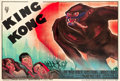 "Movie Posters:Horror, King Kong (RKO, 1933). French Double Grande (62.5"" X 92.5"") StyleB.. ..."