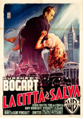 "Movie Posters:Film Noir, The Enforcer (Warner Brothers, 1951). Italian 2 - Foglio (39"" X 54.75"").. ..."