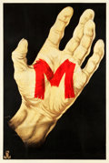 "Movie Posters:Crime, M (Nero-Film AG, 1931). German Poster (37.5"" X 56"").. ..."