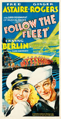 "Movie Posters:Musical, Follow the Fleet (RKO, 1936). Three Sheet (40.75"" X 79.5"").. ..."