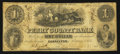 Obsoletes By State:Indiana, Cannelton, IN- Perry County Bank $1 Feb. 1, 1854. ...
