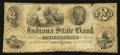Obsoletes By State:Indiana, Bloomfield, IN- Indiana State Bank $2 Jan. 8, 1856. ...