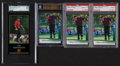 Golf Cards:General, 1997 - 2001 Tiger Woods Graded Card Group (4). ...