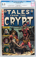Golden Age (1938-1955):Horror, Tales From the Crypt #31 (EC, 1952) CGC VF 8.0 Cream to off-whitepages....